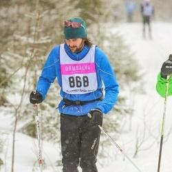 Skiing 90 km - Alexander Sonck (868)