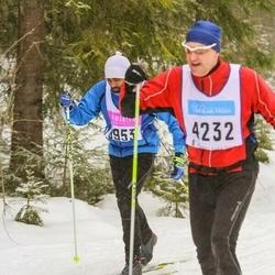Skiing 90 km - Santosh Berggren (8953)