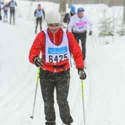 Skiing 90 km - Paula Claesson (6425)