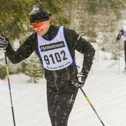 Skiing 90 km - Anders Forsberg (9102)