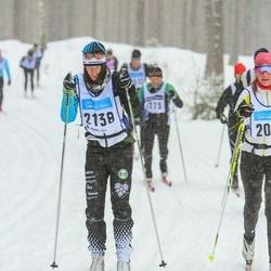 Skiing 90 km - Björn Andersson (2138)