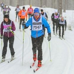 Skiing 90 km - Jan-Erik Almkvist (7347)