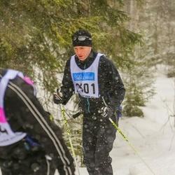 Skiing 90 km - Johan Blomster (2301)