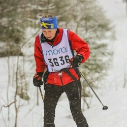 Skiing 90 km - Christina Elfvin (3636)
