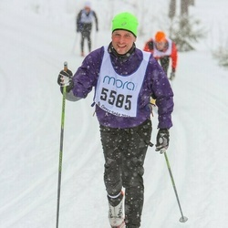 Skiing 90 km - Carl-Otto Brahm (5585)