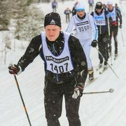 Skiing 90 km - Daniel Stavrén-Eriksson (1407)