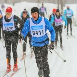 Skiing 90 km - Ragnar Svensson (8411)