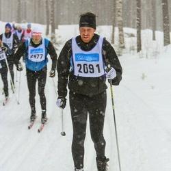 Skiing 90 km - Anders Bernhardsson (2091)