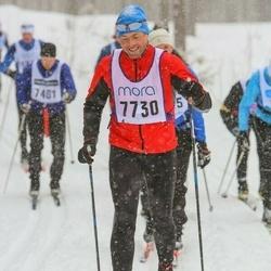 Skiing 90 km - Thomas Esebrant (7730)