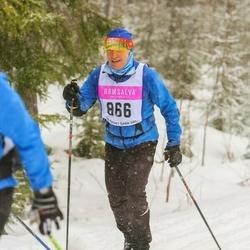 Skiing 90 km - Bruno Gauderon (866)