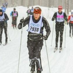Skiing 90 km - Erik Strandberg (7938)