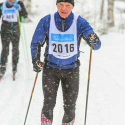 Skiing 90 km - Allan Johansson (2016)