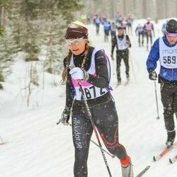 Skiing 90 km - Åsa Bergman (2872)
