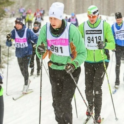 Skiing 90 km - Henrik Jonsson (991)