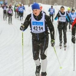 Skiing 90 km - Alexander Holm Rannaleet (4214)