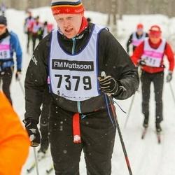 Skiing 90 km - Espen Nybakk (7379)