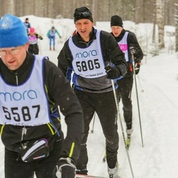Skiing 90 km - Fredrik Källberg (5805)