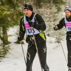 Skiing 90 km - Daniel Edwall (879)