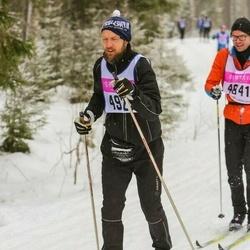 Skiing 90 km - Erik Sylvan (4922)
