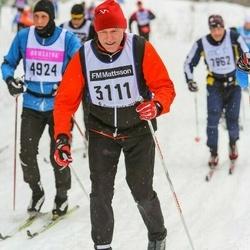 Skiing 90 km - Bo Rappling (3111)
