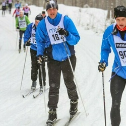 Skiing 90 km - Björn Bylund (162)