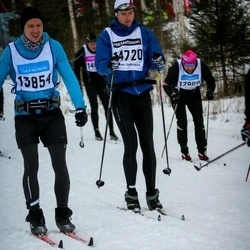 Skiing 90 km - Olof Dunsö (13854), Björn Jensen (14720)