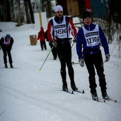 Skiing 90 km - Tommy Jansson (12706), Andréas Göransson (14566)