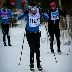 Skiing 90 km - Henrik Jilvero (11277)