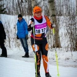 Skiing 90 km - Agneta Hedlund (18124)