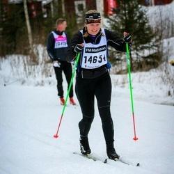 Skiing 90 km - Caroline Beijersten (14634)