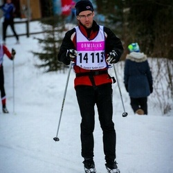 Skiing 90 km - Daniel Åström (14113)