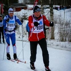 Skiing 90 km - Bo Nyberg (13953), Andreas Röthlisberger (17800)