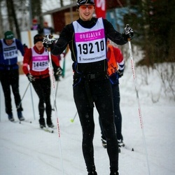 Skiing 90 km - Christoffer Andersson (19210)