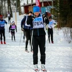 Skiing 90 km - Henrik Andersson (17674)