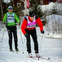 Skiing 90 km - Per-Åke Stålberg (14649), Jörgen Hermansson (16309)
