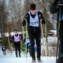 Skiing 90 km - Nicklas Schavon (15251)