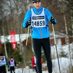 Skiing 90 km - Alexander Bergqvist (14859)