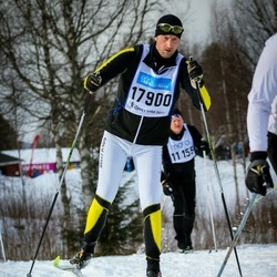 Skiing 90 km - Henrik Engblom (17900)