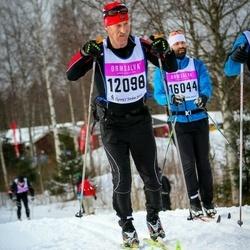 Skiing 90 km - Arvid Almås (12098), Daniel Trolle (16044)