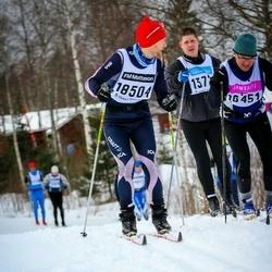 Skiing 90 km - Michael Börjeskog (13722), Anders Alfjorden (16451), Leif Alfjorden (18504)