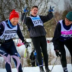 Skiing 90 km - Michael Börjeskog (13722)