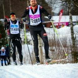 Skiing 90 km - Anders Nääs (12089)
