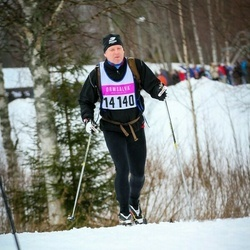 Skiing 90 km - Henrik Olsen (14140)