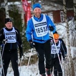 Skiing 90 km - Henry Karldorff (14824), Fredrik Johansson (16533)