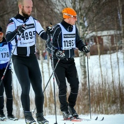 Skiing 90 km - Jimmy Hyltsten (12957), Henrik Esserius (14895)