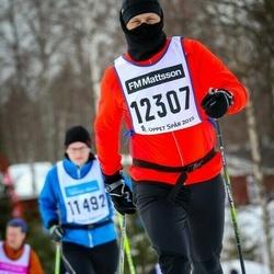 Skiing 90 km - Anders Tillvén (12307)