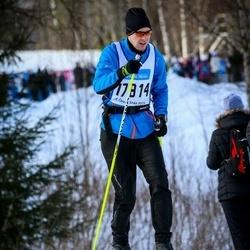 Skiing 90 km - Fredrik Stenfeldt (17814)