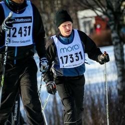 Skiing 90 km - Stefan Blom (17331)