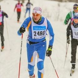 Skiing 90 km - Dmitriy Gurov (2480)