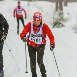 Skiing 90 km - Anne-Marie Von Salis (3101)